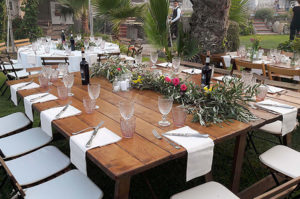 catering buffet matrimonio