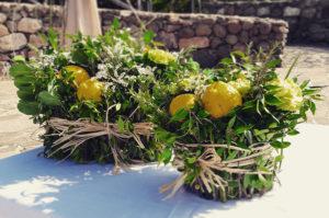 erbe aromatiche fiori matrimonio