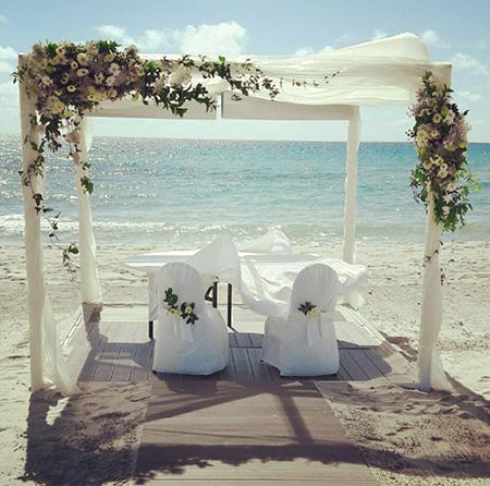 allestimento scenografia wedding planner